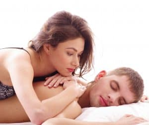 The refractory period leaves men tired and unable to have sex while women are often looking for more.